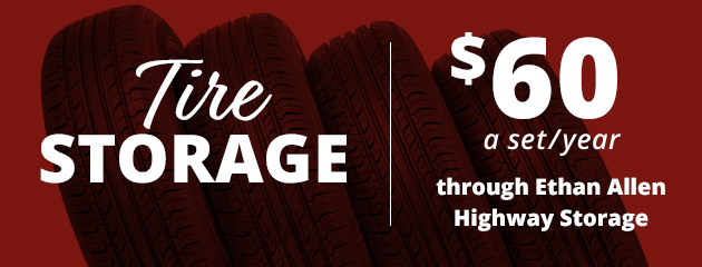 Tire Storage Price Special